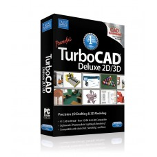 TurboCAD Deluxe 2016 (incl. BONUS 2D Training CD)