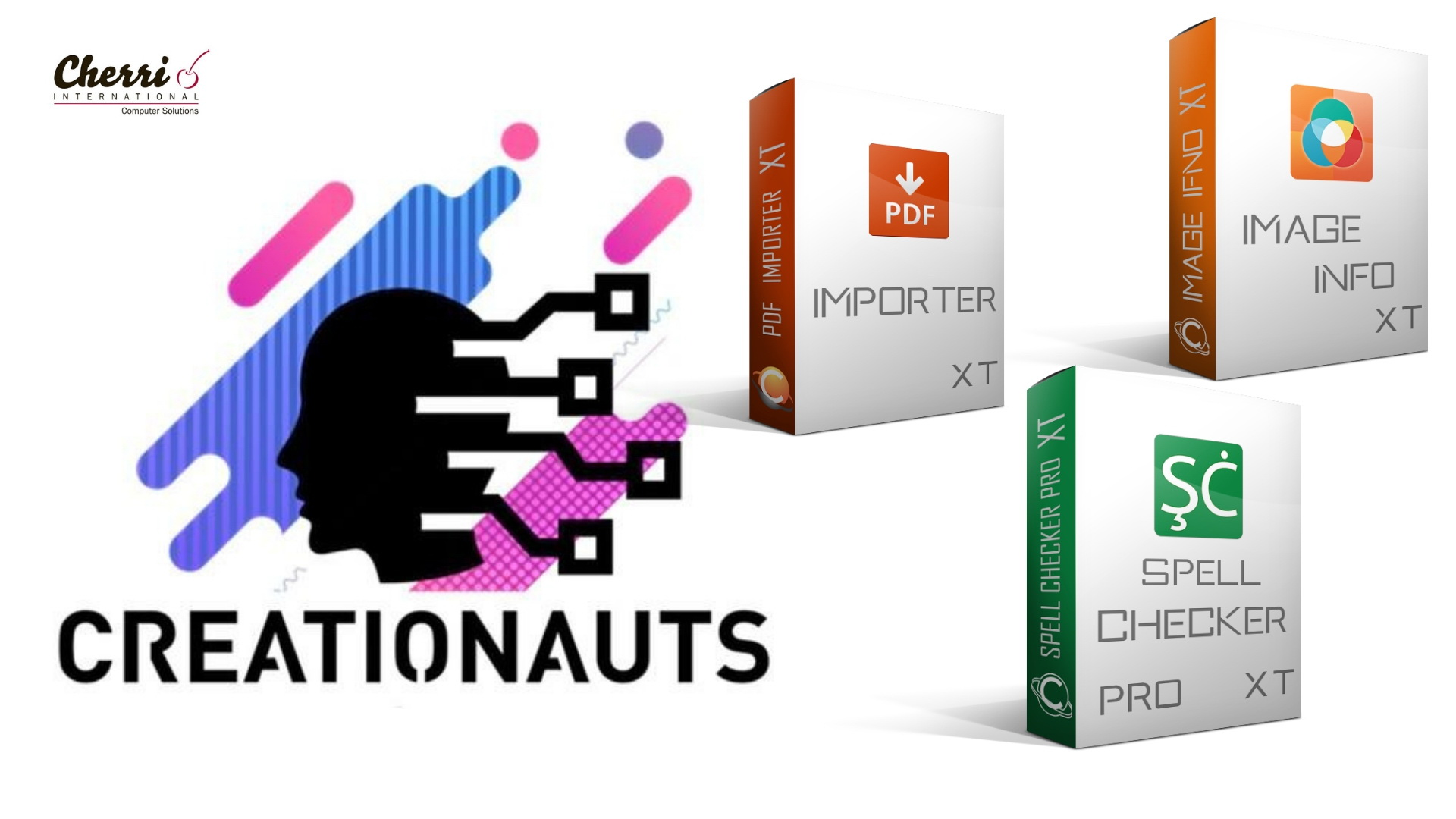 Cherri International are Distributor and Reseller of Creationauts Software